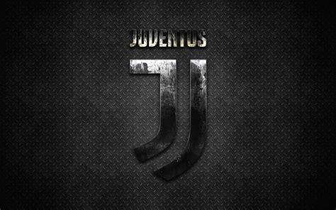 Download wallpapers Juventus FC, new logo, metal texture ...