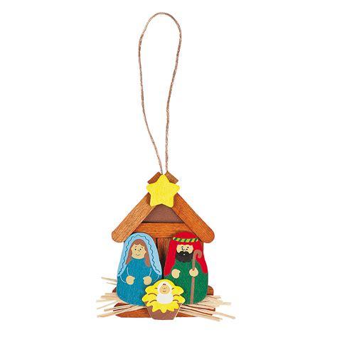 nativity christmas ornament craft kit oriental trading