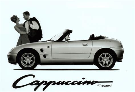 suzuki cappuccino convertible review   parkers