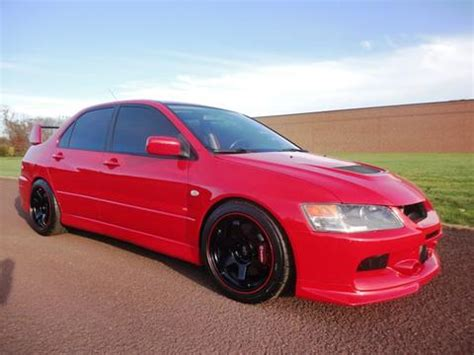 2006 Mitsubishi Lancer Evolution Mr For Sale by Used 2006 Mitsubishi Lancer Evolution For Sale