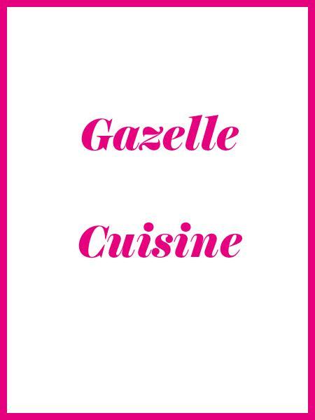 magazine gazelle cuisine abonnement gazelle cuisine 1 an 12 mois dès 12