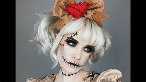 Halloween Make Up Puppe : voodoo doll tutorial spirit halloween youtube ~ Frokenaadalensverden.com Haus und Dekorationen