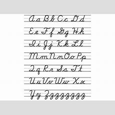 Lost Art Of Cursive Writing Laments And Shrugs  The New York Times