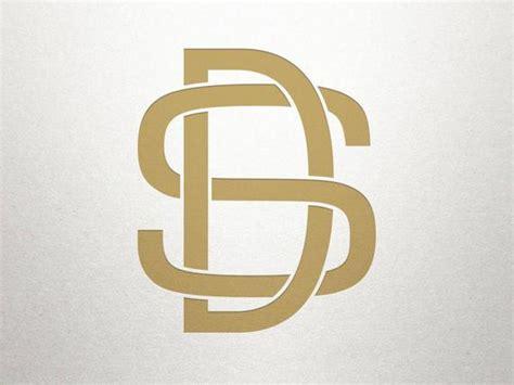 interlocking logo design ds sd interlocking logo digital