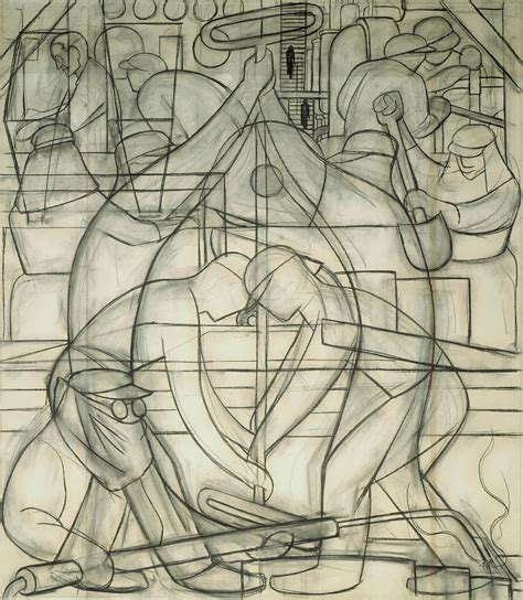 Rare Look How Diego Rivera Turned Sketches Into His
