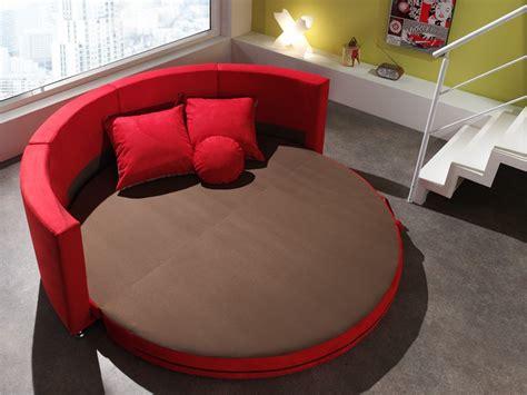 canapé rond design en tissu smiley canapé en tissu