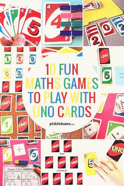 Math Games Uno Play Fun Cards Maths