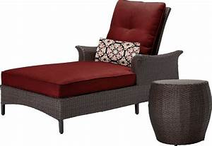 Lounge Sofa Outdoor : hanover gramercy outdoor chaise lounge chair and table set ~ Frokenaadalensverden.com Haus und Dekorationen