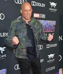 Diesel Mens Size Chart Avengers Endgame Premiere Vin Diesel Groot Jacket