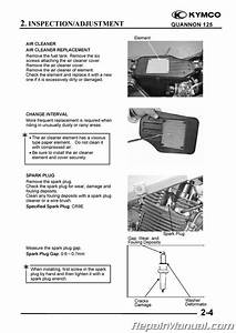 Kymco Quannon 125 150 Service Manual Printed By Cyclepedia