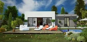 Plan Maison Contemporaine Toit Plat : maison contemporaine toit plat 164d 39 architecte 164 villa contemporaine ~ Nature-et-papiers.com Idées de Décoration