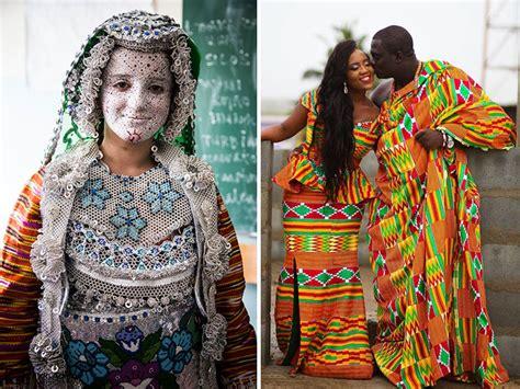 los trajes tradicionales de boda alrededor mundo