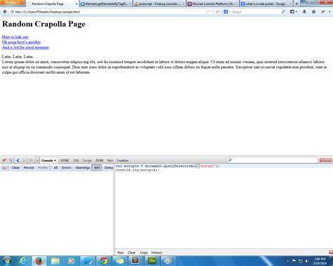 console js javascript firebug console not showing console log