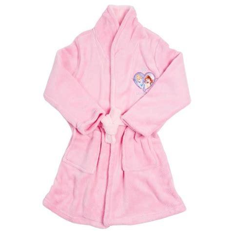 robe de chambre pour enfant robe de chambre fille princesses pyjama enfant