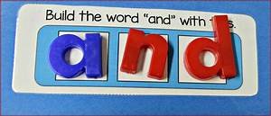 file folder activities for sight words make take teach With magnetic letters and words