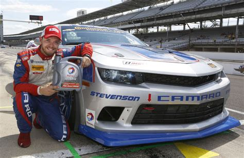 Bell Takes Stevenson Camaro To Ctsc Pole At Indy