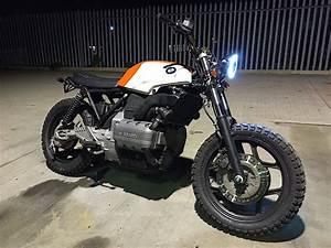 Bmw K100 Scrambler : bmw custom k75 scrambler brat bike flat tracker ~ Melissatoandfro.com Idées de Décoration