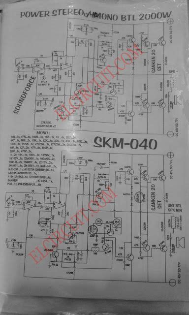 Power Amplifier Circuit Complete Pcb Layout Audio