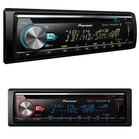 new pioneer in dash cd mp3 aux usb player car stereo radio w bluetooth hd radio ebay