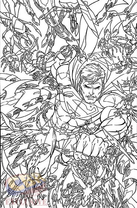 Coloring Books by Dc Comics January 2016 Theme Month Variant Covers Revealed