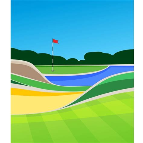 golf  printed backdrop backdrop express