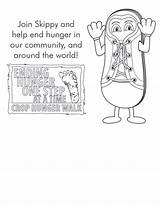 Coloring Walk Crop Resources Hunger sketch template
