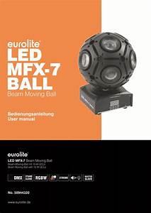 Manual Led Mfx 7 Ball