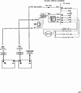 Wire Diagram Model 767   24 Volt