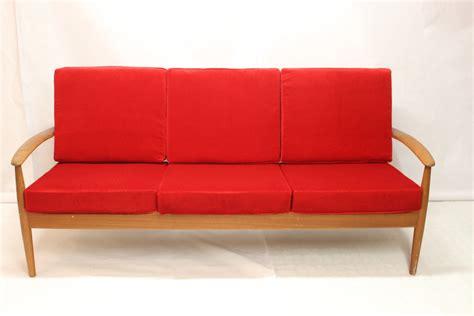 canapé modèle 118 en teck par grete jalk luckyfind