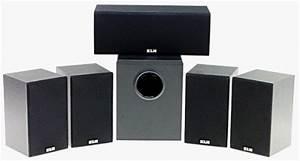 Klh 9000b 5 1 Home Theater Speaker System Subwoofer 2