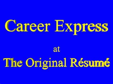 Original Resume Chelmsford Ma by Personal Resume Writing Service