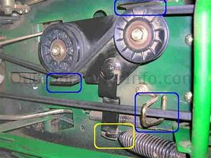 Installation  Repair And Replacement Of John Deere Lx266 Hydro Drive Belt