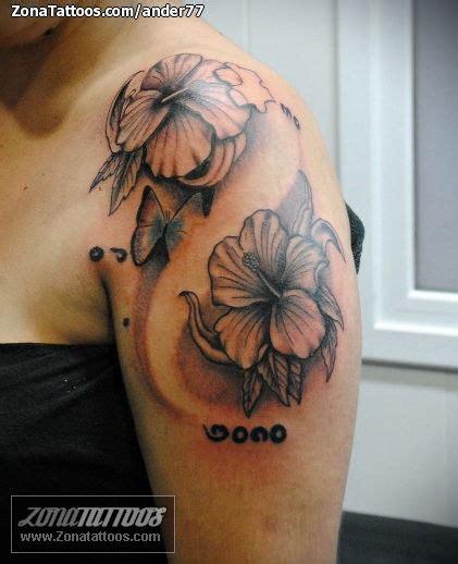 Flores Exoticas Tatuajes De