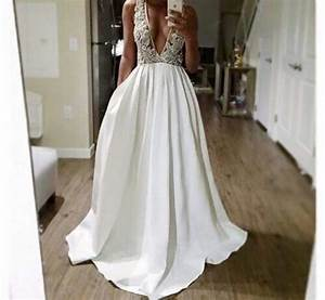 Dress prom dress white dress white prom dress ellegan for Oxiclean wedding dress