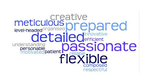 personal characteristics of event planner flint gallery