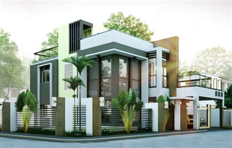 2 modern house plans modern house designs series mhd 2014010 eplans