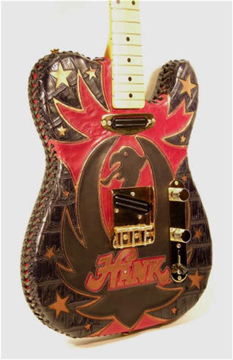 leather covered guitars roman guitars