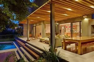 überdachte Terrasse Holz : berdachte terrasse moderne terrasseneinrichtung freshouse ~ Whattoseeinmadrid.com Haus und Dekorationen