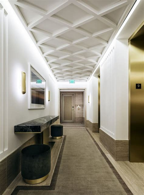 pin  lali bruni  circulation hallway ceiling false