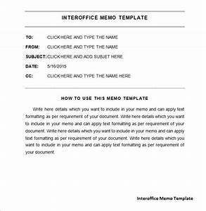 interoffice memo template 7 free word pdf documents With internal office memo template