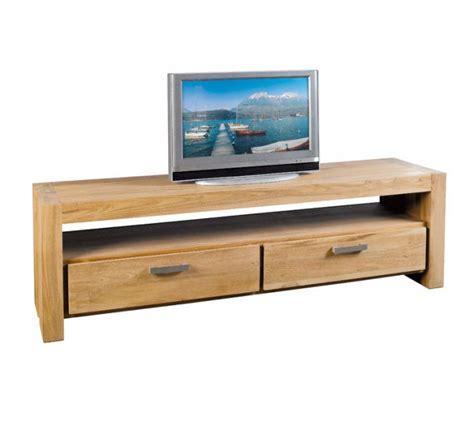house canapé meuble télé teck massif brossé 180cm bornéo casita 1321
