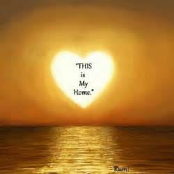Rumi Quote About Sunset