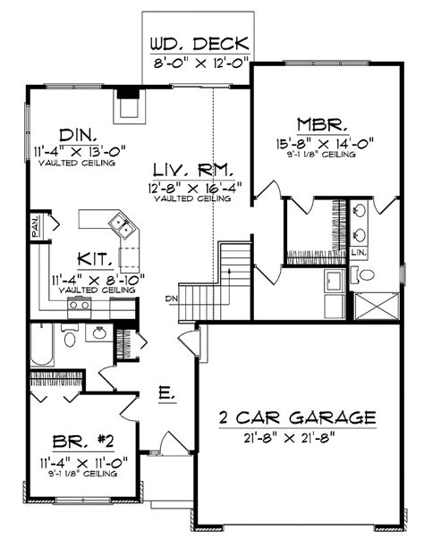open floor plan ranch house designs contemporary open floor plans for ranch style homes with