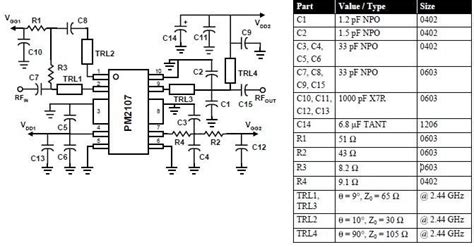 Circuits Mhz Amplifier Circuit Diagram Using