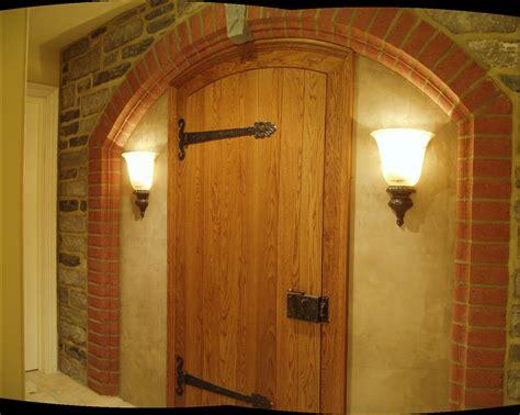 choosing   material   wine cellar door