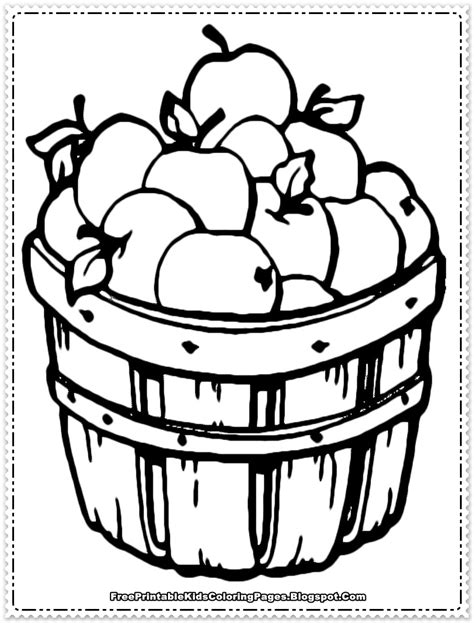 apple fruit coloring pages printable free printable 867 | apple coloring pages for preschoolers free
