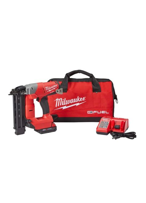 18 Floor Nailer Home Depot by Milwaukee Tool M18 Fuel 18 Nailer Kit Free Battery