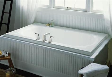 drop in tub surround drop in tub bathroom ideas