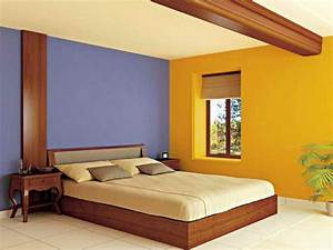 Bedroom colors for wall with combinasi color