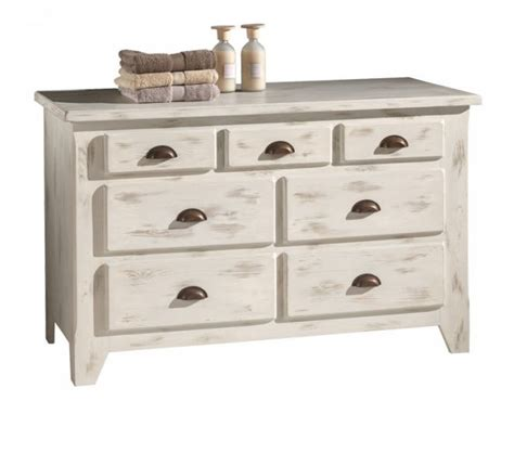 table de cuisine en fer forgé commode basse 3 4 tiroirs pin massif cérusé blanc soléa 1386